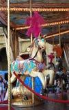 carousel украсил лошадь Стоковые Изображения