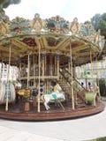 Carousel Франции Монако старый стоковые фото