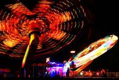 Carousel 1. Carousel night scene abstract fun Royalty Free Stock Photos