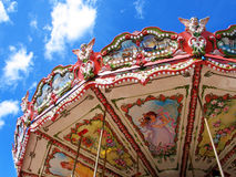 Carousel. In motion stock images