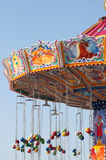 Carousel. Colorful carousel on sky background at oktoberfest in munich Stock Photography