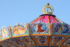 Carousel. Colorful carousel  at oktoberfest in munich Stock Image