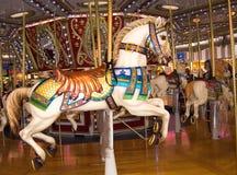 Carousel. A horse in a carousel Stock Photo