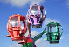 Carousel. Children's carousel in the sky Stock Photos