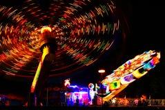 Carousel 2. Carousel night scene abstract fun Stock Photography