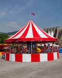 Carousel. With blue sky in Thailand Royalty Free Stock Photography