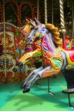 Carousel. Vintage carousel horses brightly painted Royalty Free Stock Photos