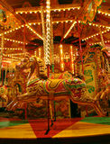 Carousel. Horse Royalty Free Stock Image