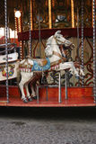 Carousel. Merry-go-round in a carnival Stock Photography