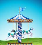 carousel иллюстрация штока