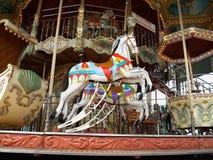 Carousel. Fairground carousel Royalty Free Stock Photo