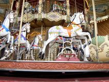 Carousel. Fairground carousel Stock Photo