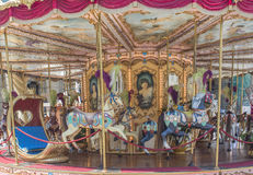 Carousel. In an amusement park Europe Stock Images