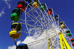 Carousel in an amusement park. In Europe Stock Photography