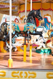 Carousel in amusement park Royalty Free Stock Photography