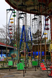 Carousel in an amusement Park Royalty Free Stock Images