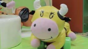 Carousel animal stock video footage