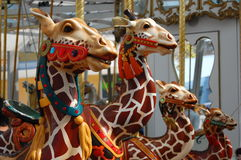 Carousel animals Stock Photos