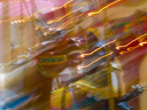 Carousel Animals in a Merry Go Round Stock Photography