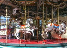 Carousel. In Annecy . France Royalty Free Stock Photos