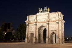 Carousel Arc de Triomphe Royalty Free Stock Photo