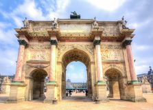 Carousel Arch of Triumph, Paris, France Royalty Free Stock Photos