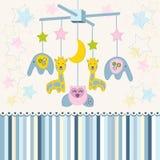 Carousel baby for crib vector Stock Photography