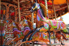 Carousel. A beautiful and colourful carousel Royalty Free Stock Image