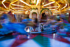 Carousel Blur Royalty Free Stock Photo