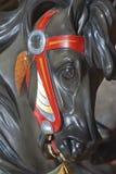 carousel bożych narodzeń koński ornamentu drzewo Obrazy Royalty Free