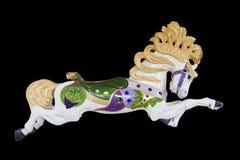 Carousel Burnaby wioski koński muzeum Zdjęcia Royalty Free