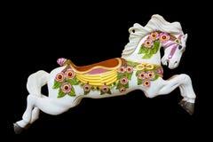 Carousel Burnaby wioski koński muzeum Obraz Royalty Free