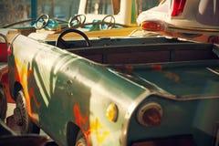Carousel Cars Stock Photo