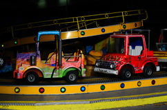 Carousel for child. Colorful carousel for child car in theme park Stock Photography