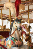 Carousel. Children roundabout in Piazza Italia, Florence outdoors Royalty Free Stock Images