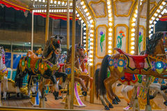 Carousel colors Stock Image