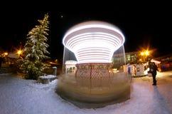Carousel , Courchevel, France Stock Photos