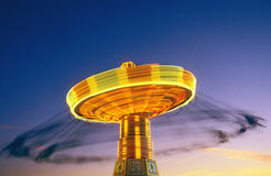 Carousel at dusk Royalty Free Stock Photography