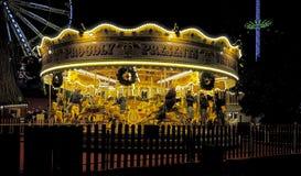 Carousel Edynburg Fotografia Stock