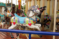 Carousel from entertainment park Royalty Free Stock Images