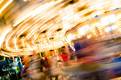 Carousel at the fair Stock Photography