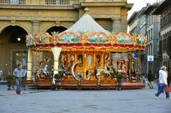 carousel florence Италия Стоковая Фотография RF