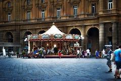 carousel Florencja Włochy Zdjęcia Royalty Free