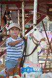 Carousel Fun Stock Image