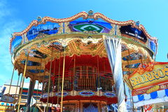 Carousel in Harbor Stock Photos