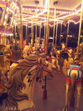 Carousel. A carousel in Hong Kong Disneyland in HongKong Stock Images