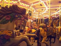 Carousel. A carousel at Hong Kong Disneyland in HongKong Royalty Free Stock Photo