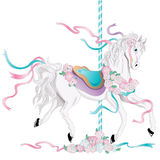 Carousel Horse Stock Photo