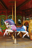 Carousel horse. Colorful carousel horse in the park Royalty Free Stock Photo