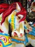 Carousel Horse. Close up of carousel horse Stock Photo